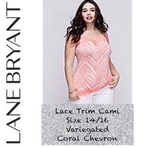 Like New! Lane Bryant Lace Trim Cami